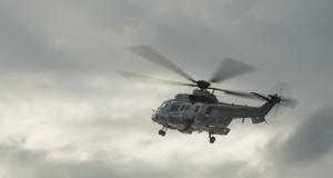 Hélicoptère de la marine nationale en vol
