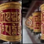 Filtre effets de flou photographique - images avant et après