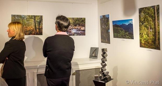 Photos d'Hervé Drouet exposées à la galerie de Moliets