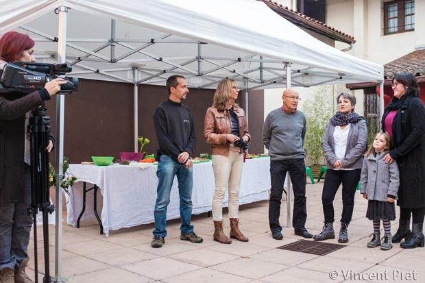 Discours de Mme la maire de Moliets lors du vernissage de l'exposition