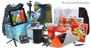 Cadeaux et matériel photo à offrir à un photographe