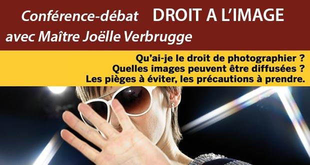 Conférence-débat sur le droit à l'image animée par Joëlle Verbrugge - 18 juin 2016 à Benesse-Maremne