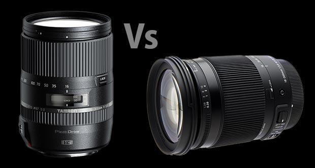 Comparaison du Tamron 16-300mm et du Sigma 18-300mm