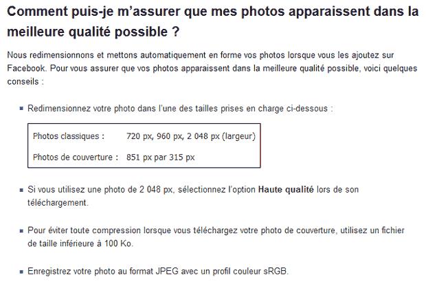 Qualité des photos sur Facebook : conseils d'optimisation pour garder la qualité maximale