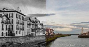 Conversion d'une photo couleur en noir et blanc dans Photoshop