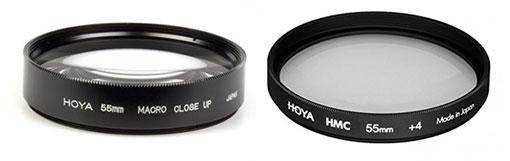 Choix bonnette macro chez Hoya : achromatique Vs simple (une lentille)