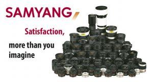 Objectifs Samyang : ensemble des objectifs et slogan de la marque