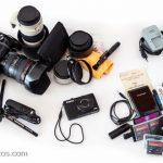 Préparation de son sac photo de voyage : quel matériel photo emporter ?