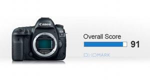 Résultats du test DxO du Canon 5D Mark IV - Note globale