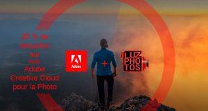 Promotion Adobe Creative Cloud pour la photo avec LuzPhotos (réduction de 20%)