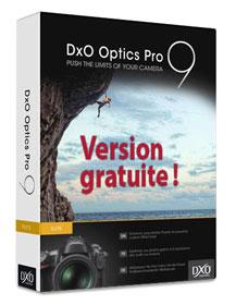 DxO Optics Pro 9 gratuit jusqu'au 28 février 2017