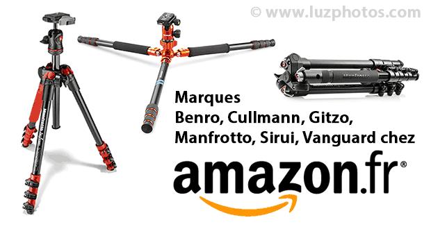 Choix d'un trépied chez Amazon