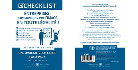 """Livre numérique """"Entreprises - communiquez par l'image en toute légalité"""" de Joëlle Verbrugge dans la collection Checklist"""