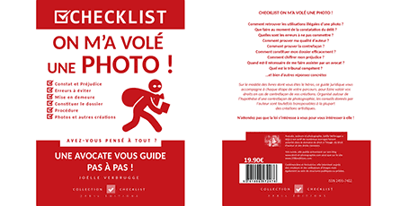 "Livre numérique ""On m'a volé une photo"" de Joëlle Verbrugge dans la collection Checklist"