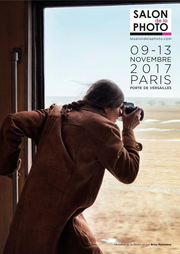 Affiche officielle du Salon de la Photo 2017 - Auteur Brice Portolano