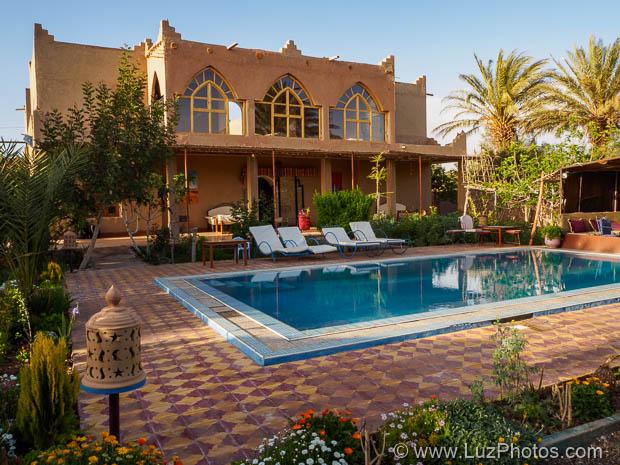 Voyage photo au Maroc : photo du gîte