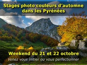 Stage photo automne dans les Pyrénées - Octobre 2017