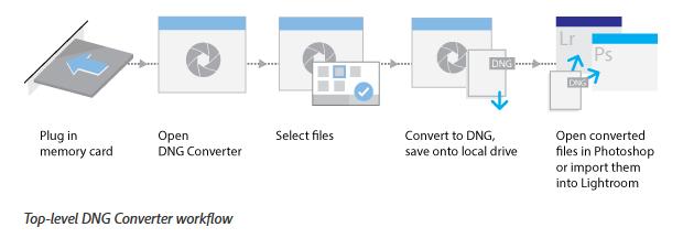 Fin de Lightroom en licence permanente : utilitaire DNG Converter pour les fichiers RAW non reconnus par Lightroom 6