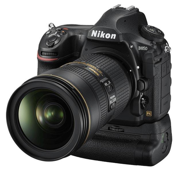Nikon D850 Vs D810 - Le D850 avec la nouvelle poignée Grip MB-D18