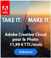 Adobe Creative Cloud pour la photo avec LuzPhotos