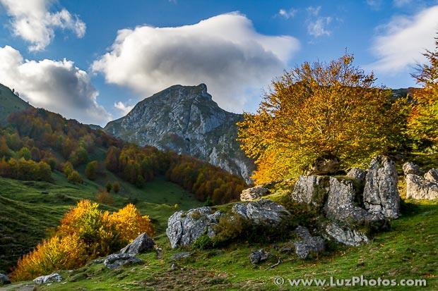 Stage photo d'automne en montagne dans les Pyrénées - Octobre 2018