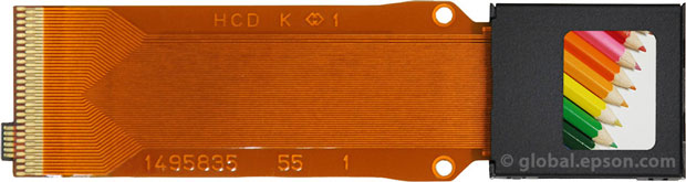 Viseur électronique : afficheur LCD Epson ULTIMICRON