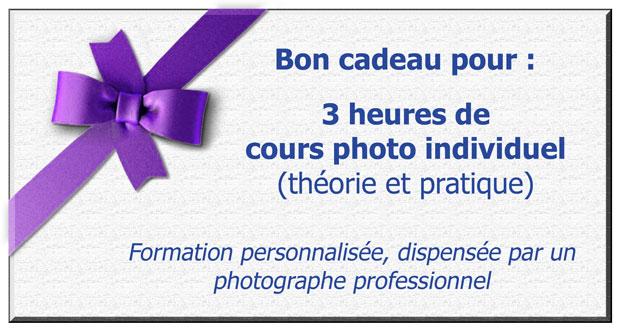 Bon cadeau pour une formation photo personnalisée, dispensée par un photographe professionnel (Hervé Drouet du blog LuzPhotos)