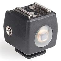 Choix flash cobra : une cellule optique de déclenchement à distance (pour les flashs sans mode esclave optique en mode manuel)