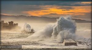 Tempête sur Socoa - Février 2016